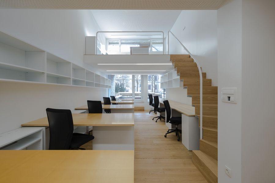 Bureau V Architecture : Prenova lokala v arhitekturni biro odprte hiše slovenije