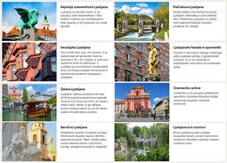 Architectural sightseeing in Ljubljana
