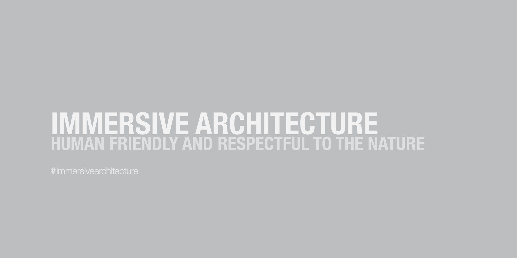 ISA 2019: Immersive School Of Architecture